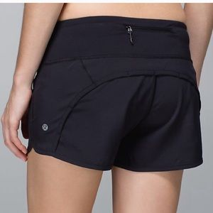 Lululemon Run Times Short Black 10